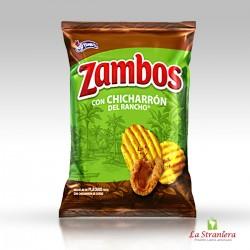 Snacks di Cotiche, Zambos con Chicharon del Rancho 138G.