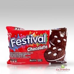 Biscotti ripieni di crema di Cioccolato, Festival x12u.