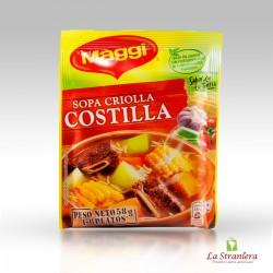 Zuppa di costolette creola, Sopa Criolla Costilla Maggi 58g.
