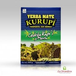 Yerba Mate Kurupi Cedron kapi'i y Menta 500G.