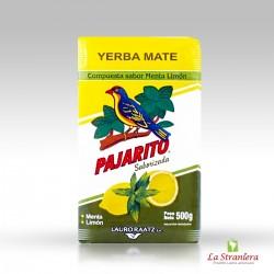 Yerba Mate Pajarito alla Menta e Limone, 500G.