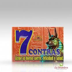 Sapone Esoterico, 7 Contras, Jabon Per buona Fortuna ,Felicità e Salute