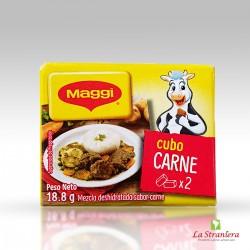 Cubetti di Carne (Cubitos de Carne),Caldos Maggi x2
