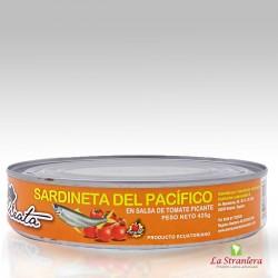 Sardineta del Pacifico in Salsa di Pomodoro Piccante (Tomate) El Pirata