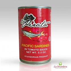 Sardinetas del Salsa de Tomate Pacifico El Pirata